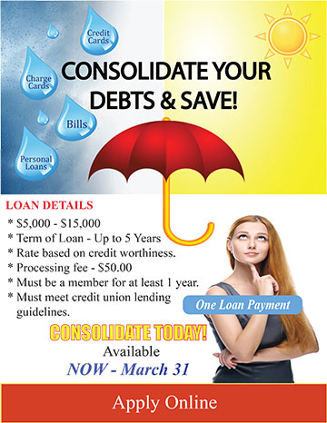 Consolidate your debt and save